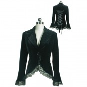 Veste gothique Evelyn Black