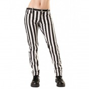 Pantalon punk Stripe Denim