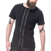Shirt with black rings